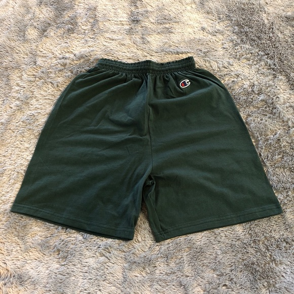 Champion Other - Champion Cotton Shorts - Forest Green
